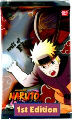 Naruto Shippuden Collectible Card Game Will of Fire Booster Pack 1st Edition