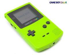 Game Boy Color - Kiwi - neon green (1998)