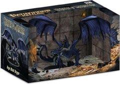 Pathfinder Miniatures Heroes & Monsters Huge Black Dragon Promo Figure Mint Figure in Mint Box