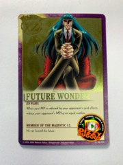 FUTURE WONDER R|MJ-006 Majestic 12 Gold Foil Variant Promo Card