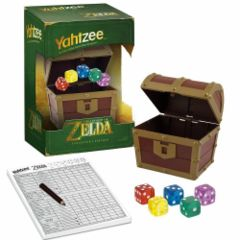 Legend of Zelda Yahtzee Treasure Chest Collector's Edition