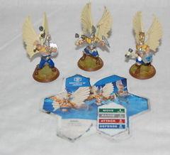 Heroscape Loose Figures: Sentinels of Jandar Set of 3 Figures w/Card