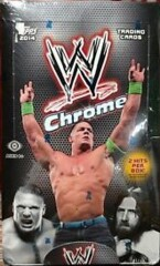 2014 WWE TOPPS CHROME WRESTLING TRADING CARD HOBBY BOX (2 HITS PER BOX)