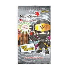 Maple Story i Trading Card Game: Set 4 NPC Heroes - 9 Card Booster Pack