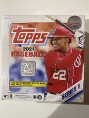 2021 Topps Series 1 Baseball Mega Box 16 packs