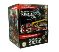 Dungeons & Dragons Dice Masters: Faerun Under Seige - Gravity Feed Display Box (90 Packs)