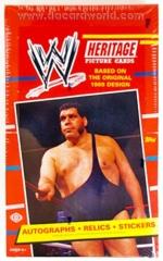 2012 TOPPS WWE WRESTLING HERITAGE TRADING CARDS HOBBY BOX