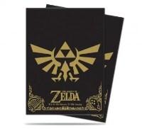 Ultra Pro - The Legend of Zelda: Black & Gold Deck Protectors 65ct