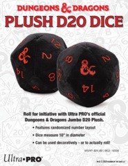 Ultra Pro Plush Dice Dungeons and Dragons D20