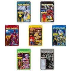 Iron Maiden ReAction Figure - Wave 2 Coomplete Set