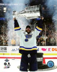 Alex Pietrangelo with the Stanley Cups - Top Loaded 8x10 Photo (