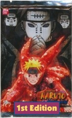 Naruto Shippuden Collectible Card Game Path of Pain Booster Pack 1st Edition!
