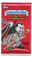 Garbage Pail Kids Topps: Oh, The Horror-ible (2018) HOBBY Pack