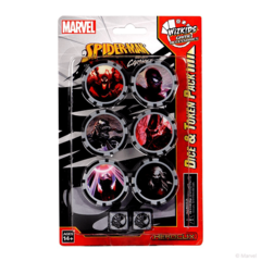 Spider-Man and Venom Absolute Carnage Dice and Token Pack
