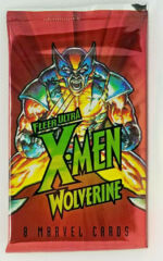 1996 FLEER ULTRA X-MEN WOLVERINE SEALED PACK HOBBY VERSION  - 8 CARDS