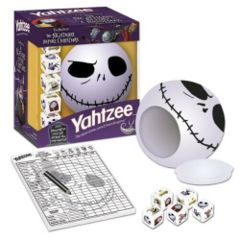The Nightmare Before Christmas Yahtzee Jack Skellington Edition (Purple Box)