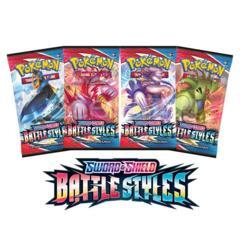 Sword & Shield - Battle Styles Booster Pack Art Set