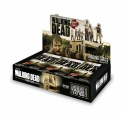 The Walking Dead Trading Cards Season Two Sealed Box