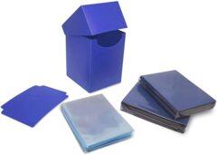 BCW Elite2 Combo Pack - Deck Guards, Inner & Deck Box - Blue
