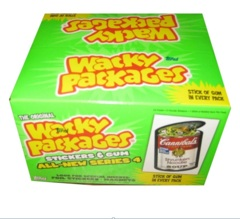 Wacky Packages Topps :  All-New Series 4 HOBBY Box