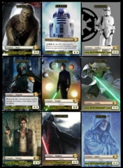 Custom Token - Star Wars 9 token Set