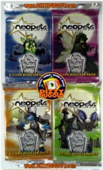 Neopets The Haunted Woods Booster Pack Art Set