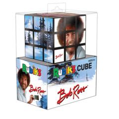 Bob Ross Rubiks Puzzle Cube
