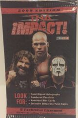 2009 TNA IMPACT WRESTLING - TRADING CARD PACK by Tristar