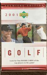 2001 Upper Deck Golf Premier Edition - Red Pack