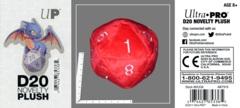 Ultra Pro Jumbo D20 Novelty Plush Die Red