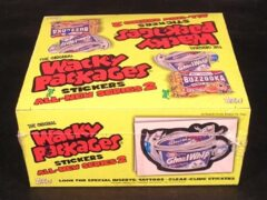 Wacky Packages Topps :  All-New Series 2 HOBBY Box