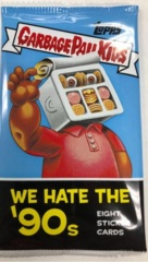 Garbage Pail Kids Topps : We Hate the 90's (2019) HOBBY Pack