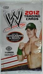 2012 TOPPS WWE WRESTLING TRADING CARDS HOBBY PACK