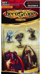 Heroscape D&D Collection D3: Expansion Set: Moltenclaw's Invasion:  Heroes of Fallcrest