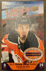 2020-21 Upper Deck Series One Hockey Hobby Box
