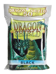 Black Dragon Shield Protective Sleeves (50ct.)