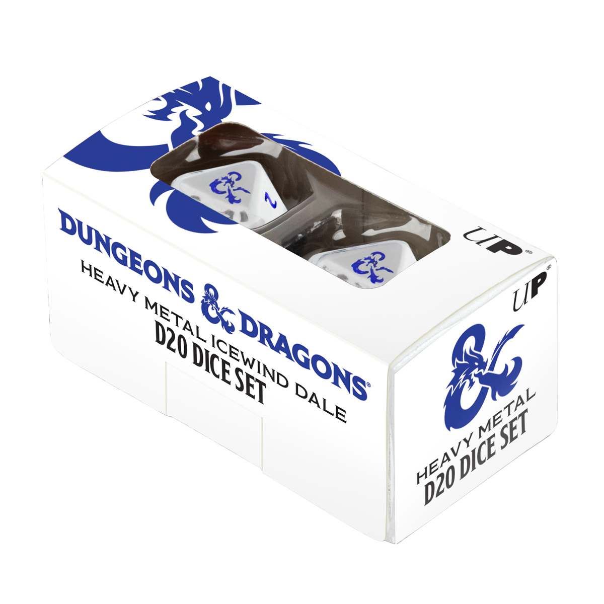 Ultra Pro Dice: Dungeons & Dragons - Heavy Metal Icewind Dale D20 Polyhedral Set (2ct)