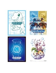Digimon Art Sleeves Set of 4 (Art TBA) 240 Sleeves
