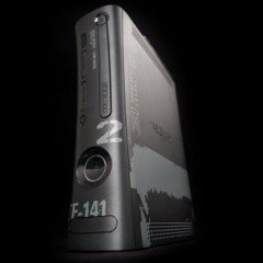 XBOX 360 - 250GB Elite Modern Warfare 2 Limited Ed