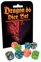 Dragon D6 Dice Set - Steve Jackson Games