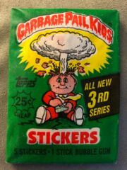 Garbage Pail Kids Topps: 3rd Series Trading Card Sticker Pack (1986)