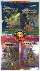 Neopets Battle For Meridell Booster Pack Art Set