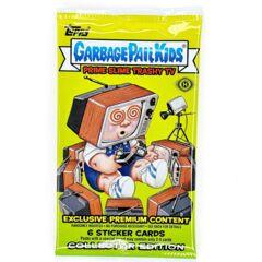 Garbage Pail Kids Topps : Prime Slime Trashy TV (2016) HOBBY Pack