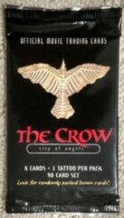 1996 The Crow City of Angels Trading Cards Card Pack