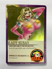 LADY SUSAN SR|MJ-009 Majestic 12 Gold Foil Variant Promo Card