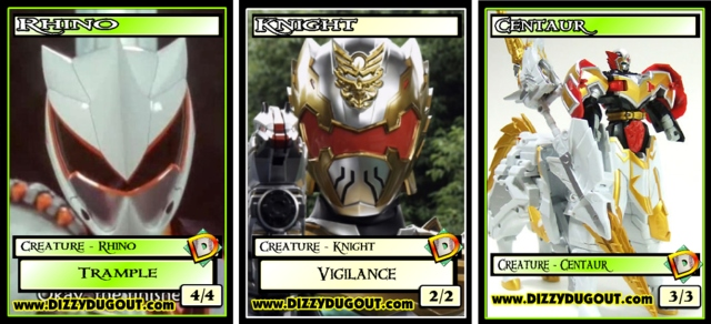 Custom Token - Power Rangers GameDay Trostanis Summoner Token Set