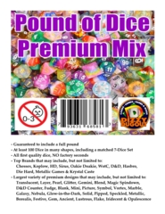 Pound of Dice: Premium Mix
