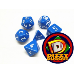 Dizzy HD Dice Set: Opaque Blue