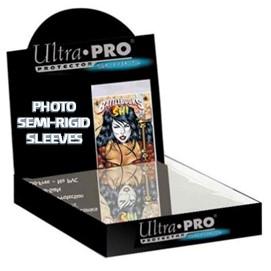 Mylar Photo Size 8x10 Semi-Rigid Comic Sleeves