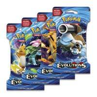 XY Evolutions - Sleeved Boosters 24 Pack Lot